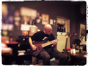 Der Backbone des CT-Grooves: Bassist Peer!